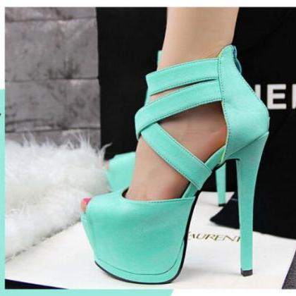 High Stiletto Heels Sexy Womens Nig..