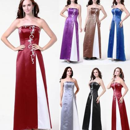 Formal Prom Gown Bridesmaid dress ..