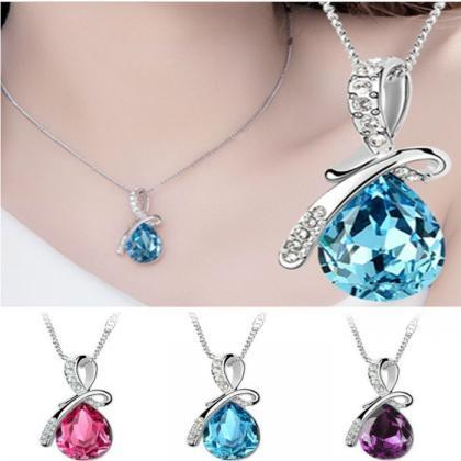 Fashion Girl Rhinestone Chain Cryst..