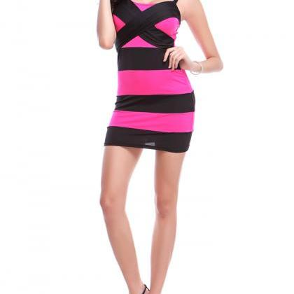 Women Casual Sleeveless Dress Bodyc..