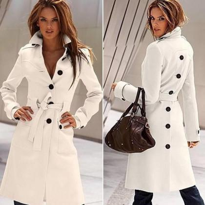 Fashion Women Winter Warm Wool Long..