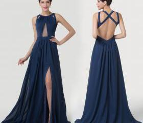 Split Long Backless ..