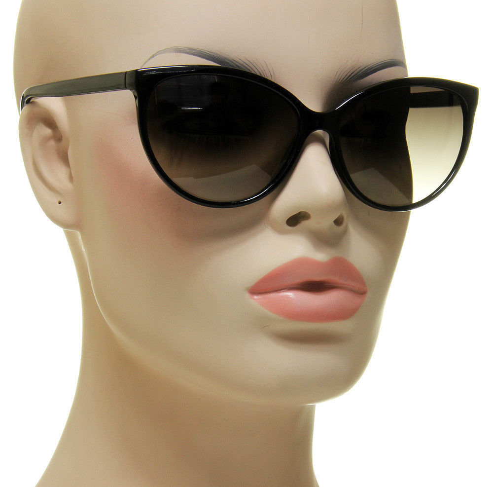Women S Black Cat Eye Sunglasses Retro Classic Designer