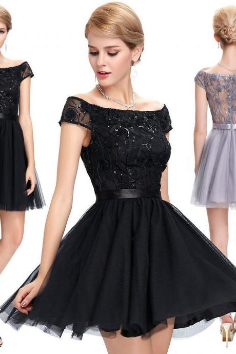 Short/Mini Cocktail Dress Party Dresses Evening Formal Bridesmaid Prom Dresses
