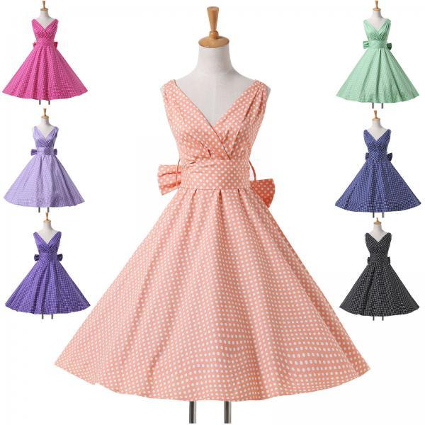 VINTAGE MASQUERADE Clothing Party Evening 50s Rockabilly Cocktail Prom NEW Dress