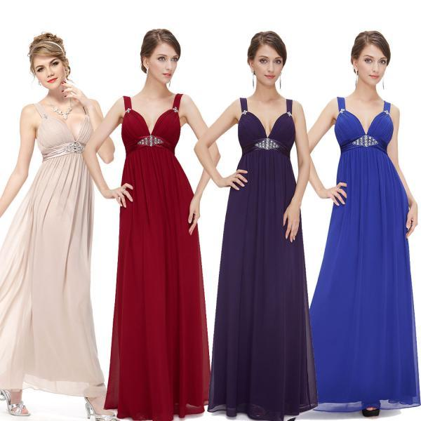 Sexy Long Maxi Party Formal Party Evening Bridesmaid Ball Gown