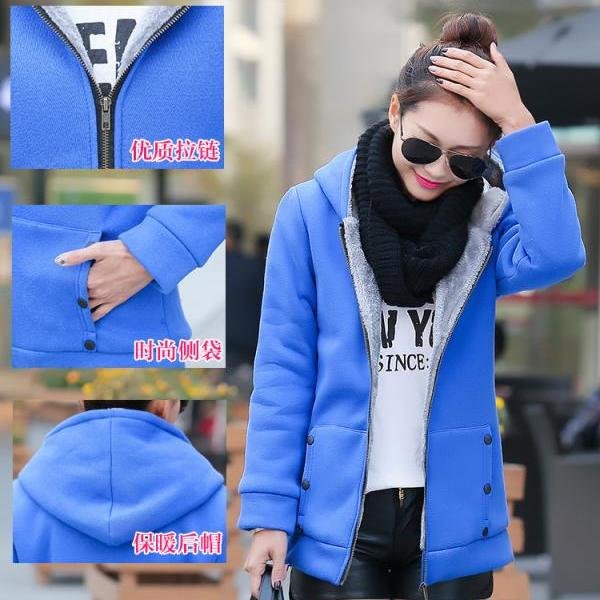 Hot Women Thicken Warm Winter # Coat Hood Parka Long Overcoat Jacket Outwear